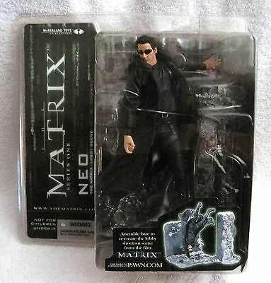 New - 2003 - The Matrix - Neo Action Figure - Series One 1 - Awesome Gift Item!