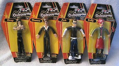 New - 2002 - The Osbourne Family - Bendable Figures - Ozzy Osbourne - Great Gift