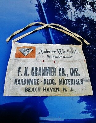c.1960 F.H. CRANMER CO, Beach Haven, LBI, NJ: Vintage Lumberyard Hardware Store