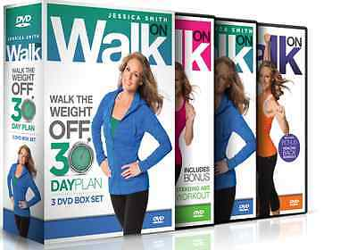 Jessica Smith: Walk On - Walk the weight off 30 Day Plan 3 DVD Set
