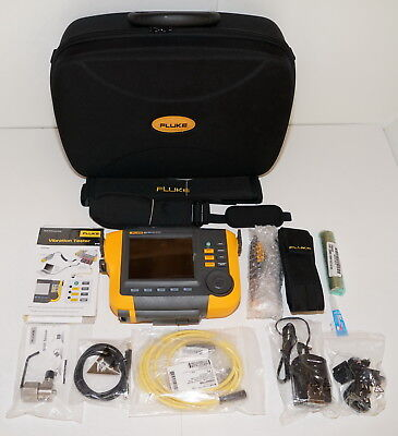 Fluke 810 Handheld Mechanical Vibration Tester 0 To 80G Peak Brand New!