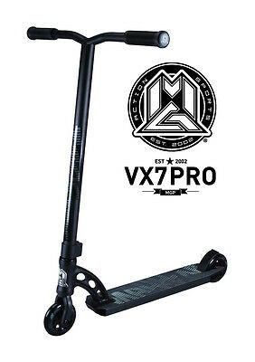 New 2017 Vx7 Madd Gear Mgp Pro Scooter Black - Free Delivery