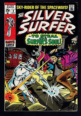 1969 Marvel Silver Surfer #9 FN-