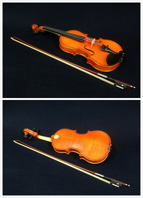 Kapok V888 Premium Half Size Solid Wood Violin+Light-weight Foam Case,Rosin,Bow