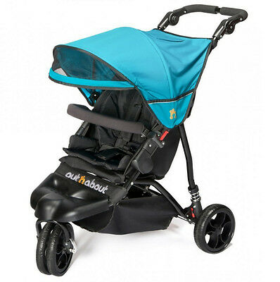 !SALE! NEW OUT N ABOUT SINGLE LITTLE NIPPER Marine Blue Pram pushchair buggy and