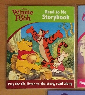 Disney Winnie The Pooh Read to me Storybook with CD - NEW