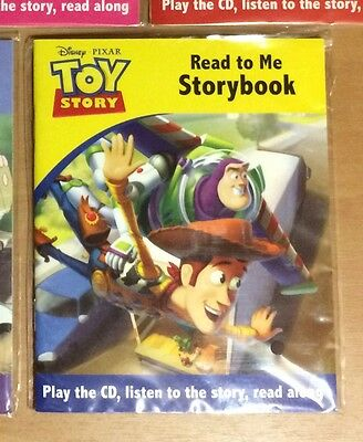 Disney Pixar Toy Story Read to me Storybook with CD - NEW