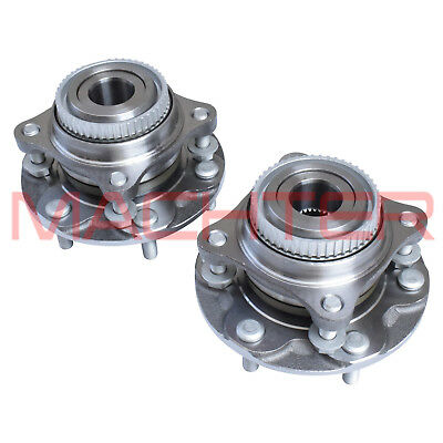 Machter Wheel Bearing Hubs Assembly Toyota Hilux GGN25R KUN26R 05-15 Front LH+RH