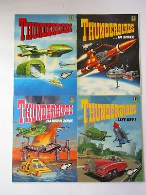 Thunderbirds...In Space. Danger Zone. Lift Off. Rescue Books Comic Albums. 1992
