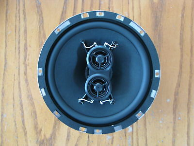 VW Radio Dash Speaker Upgrade 1958-73 Bug Beetle Dual Voice Coil Stereo Inputs