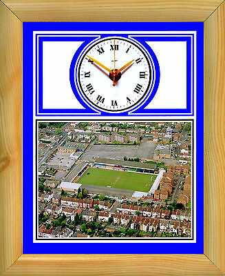 Football Clock Southend United Roots Hall Aerial Photo
