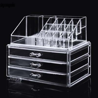 Acryl Aufbewahrung Kosmetik Organizer Kosmetikbox Schubladen Make-up Box Beauty