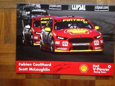 Allan Moffat Limited Edition Signed Bathurst Poster Aud