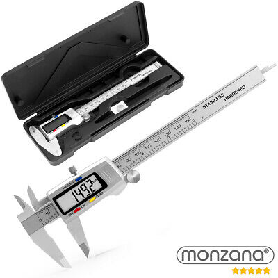 Monzana® Digitaler Messschieber 0 - 150 mm Schieblehre Messlehre LCD digital