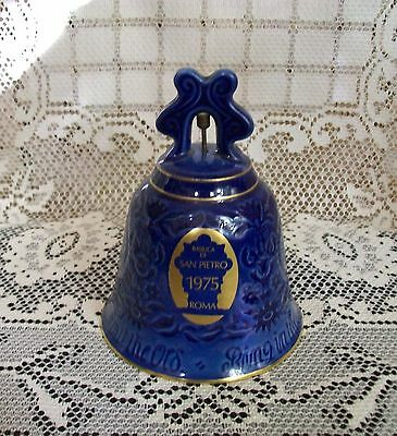"VINTAGE 1975 BING & GRONDAHL 'New Year"" BELL (St Peter's Church,Rome) Denmark"