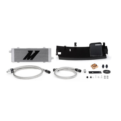 Mishimoto Thermostatic Oil Cooler Kit - fits Ford Focus RS MK3 - 2016on - Silver