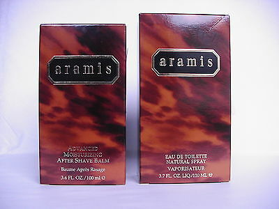 Lot    ARAMIS  Eau de Toilette 110ml & After Shave Balm 100ml  neufs