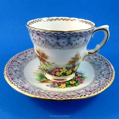 HM Sutherland Woodland Dell Demitasse Tea Cup and Saucer
