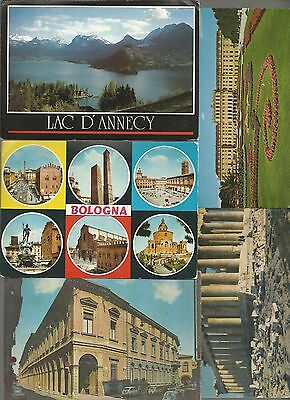 40 x vintage post cards: EUROPE, different countries, 60's and on   # 50257
