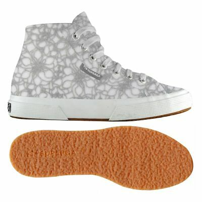 2795-microfleece Crystalw, Womens Flatform Pumps Superga