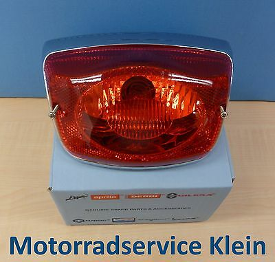 Genuine Piaggio Replacement Part Rear Light For Vespa LX 50 125 and LXV 50 125
