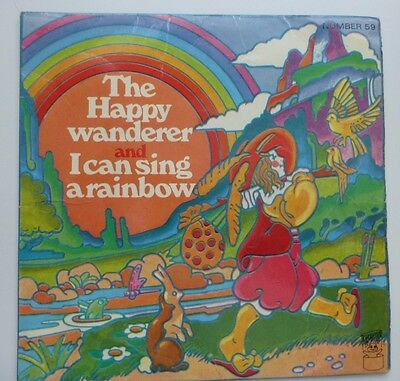 "Ronnie Hilton - The Happy Wanderer, 1970 7"" Vinyl. Number 59."