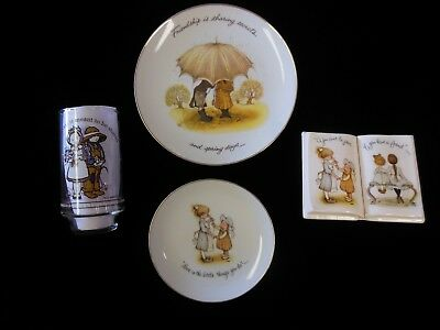 Vintage Lot of 4 1970s Holly Hobbie Items
