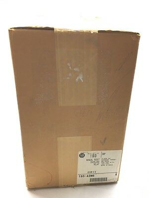 Allen Bradley Factory Sealed Box Manual Reset 96-300Amp Overload Relay 193-A2N6
