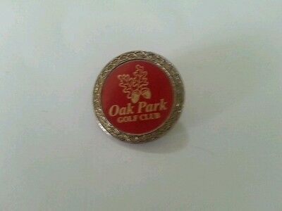 Oak Park Golf Club Ball Marker