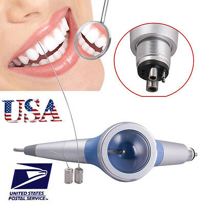 4H Dental Air Flow Teeth Polishing Polisher Handpiece Hygiene Prophy Jet 4 Hole