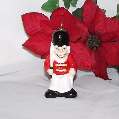 Vintage Goebel Christmas Ornament Toy Soldier 1981 Hand Painted W Germany
