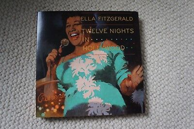 Ella Fitzgerald, Twelve Nights in Hollywood, 4 disc set in luxurious package.
