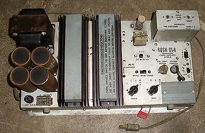 ROCK-OLA 440 AMPLIFIER 44790-A & Pre-amplifier 43562-1-A Rebuilt & Tested
