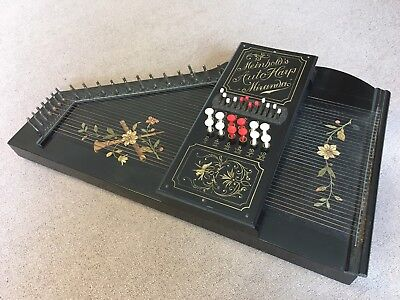 VINTAGE GERMAN ZITHER AUTO-HARP  Functional and in tune
