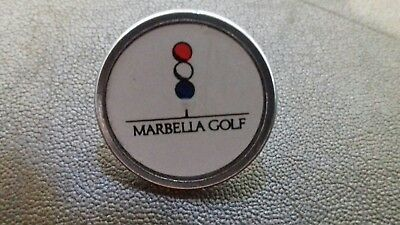 Marbella Golf Club Ball Marker