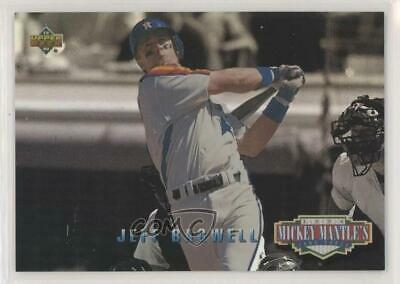 1994 Upper Deck Mickey Mantle's Long Shots #MM1 Jeff Bagwell Houston Astros Card