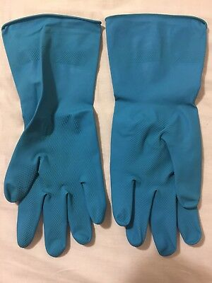 Reusable Rubber Hand Gloves , Protective Hand, Dish Washing, Gardening