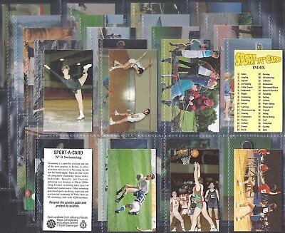 South Wales Constabulary- Sport A Card (M36 Cards) - Exc