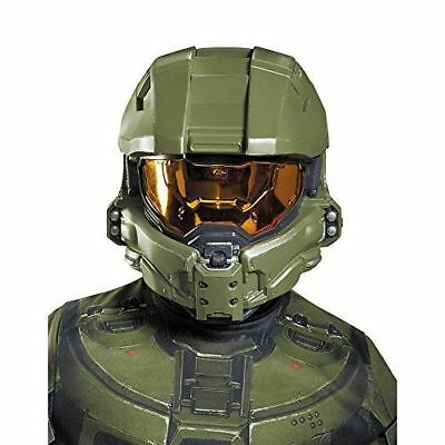 Disguise Master Chief Child Half Mask Costume Accessory - FAST FREE SHIPPING!
