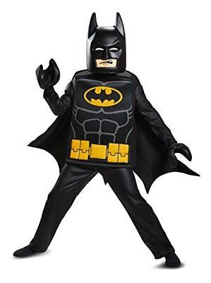 Disguise LEGO Movie Deluxe Batman Costume, Medium 7-8 - FAST FREE SHIPPING!