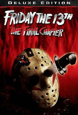 FRIDAY THE 13TH PART 4 Final Chapter (DVD, 2013) NEW