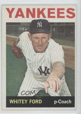 1964 Topps #380 Whitey Ford New York Yankees Baseball Card