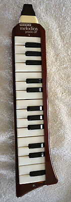 Vintage Hohner Melodica 27 Key W/case & Spare Mouthpiece Works Great Germany