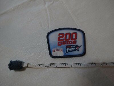 Details about  /US USBC United States Bowling Congress 550 series patch award kids adult youth
