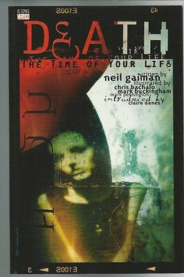 Death Time of Your Life Death of the Endless #2 Neil Gaiman 1st Printing 1997 SC