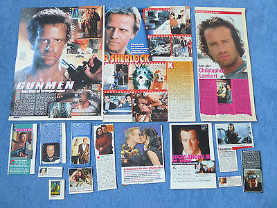 Christopher Lambert Clippings Highlander Gunmen