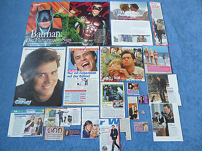 Jim Carrey Poster Clippings Batman