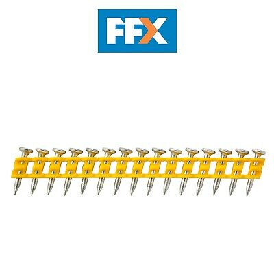 DeWalt DCN8901025 2.6x25mm Standard Collated Concrete Pins 1005pk