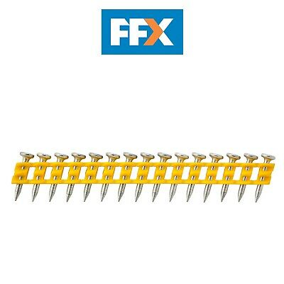 Dewalt DCN8901015 2.6x15mm Standard Collated Concrete Pins - Box of 1005