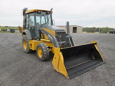 John Deere 310SJ Farm Tractor Loader Backhoe